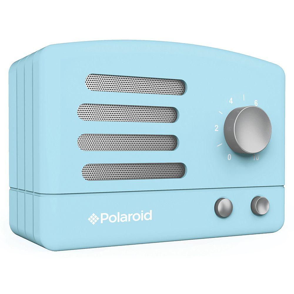 Polaroid Retro Bluetooth Speaker - Blue