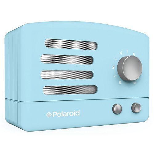 Retro Bluetooth Speaker - Blue