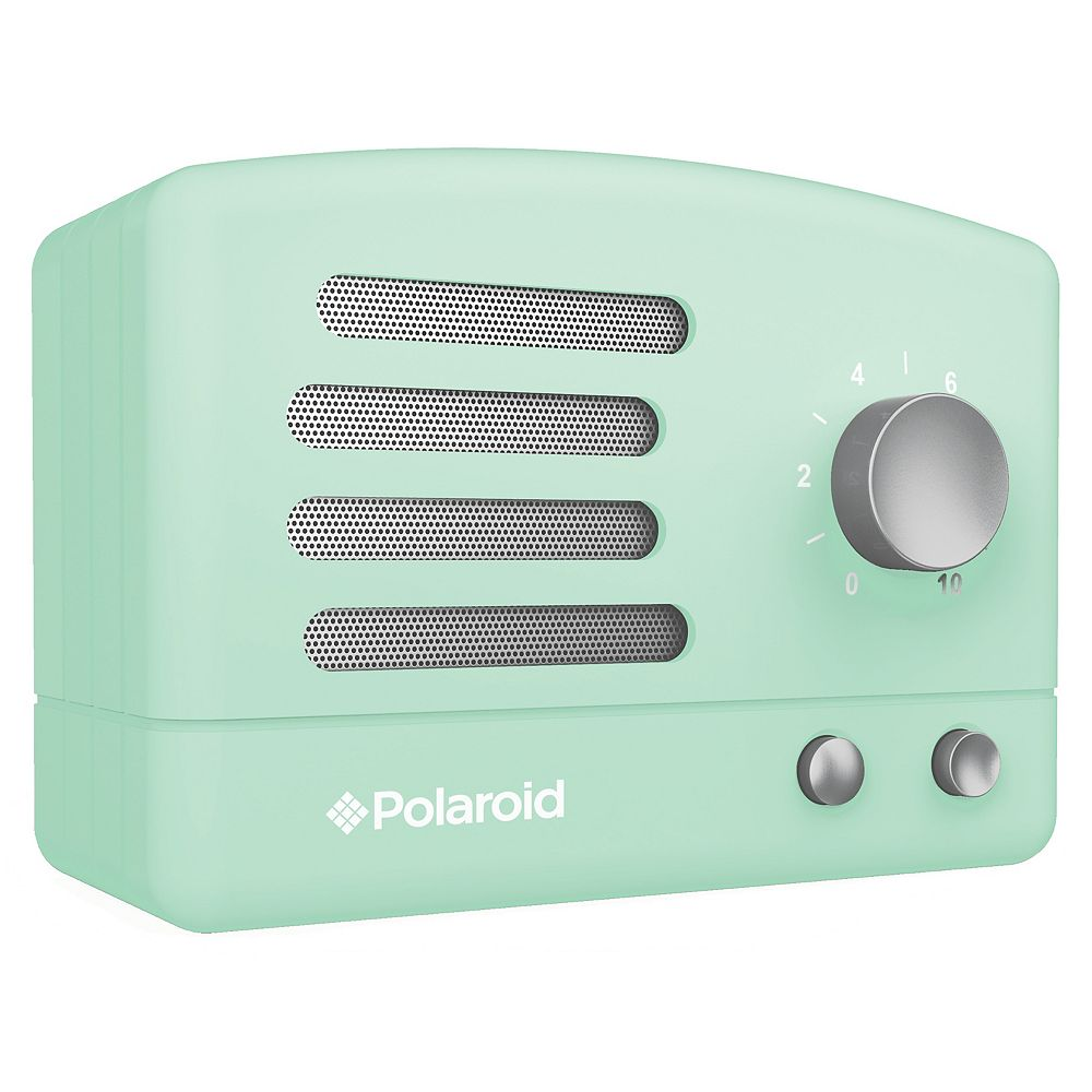 Polaroid Retro Bluetooth Speaker - Green