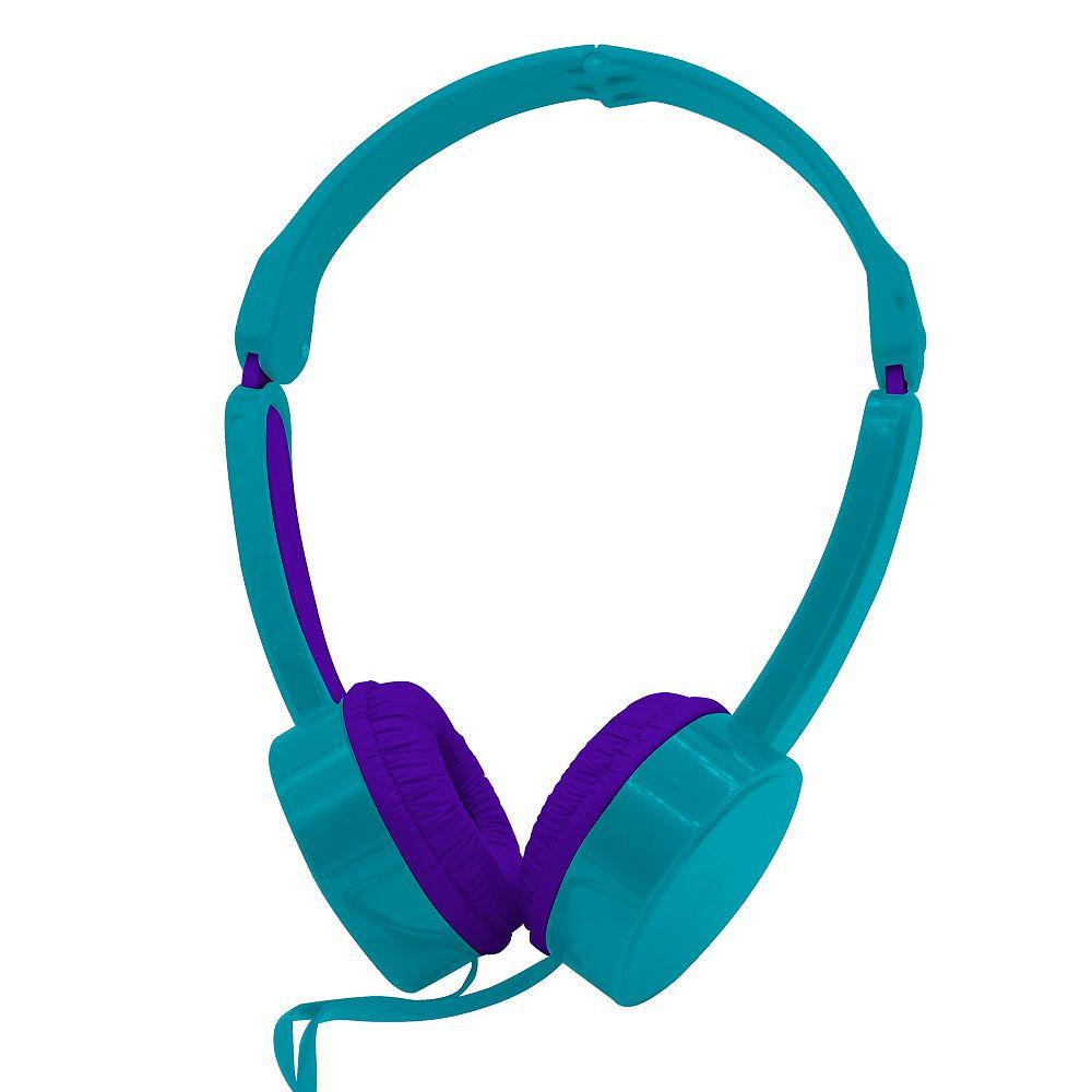 Polaroid Kids Volume-Limiting Headphones - Teal