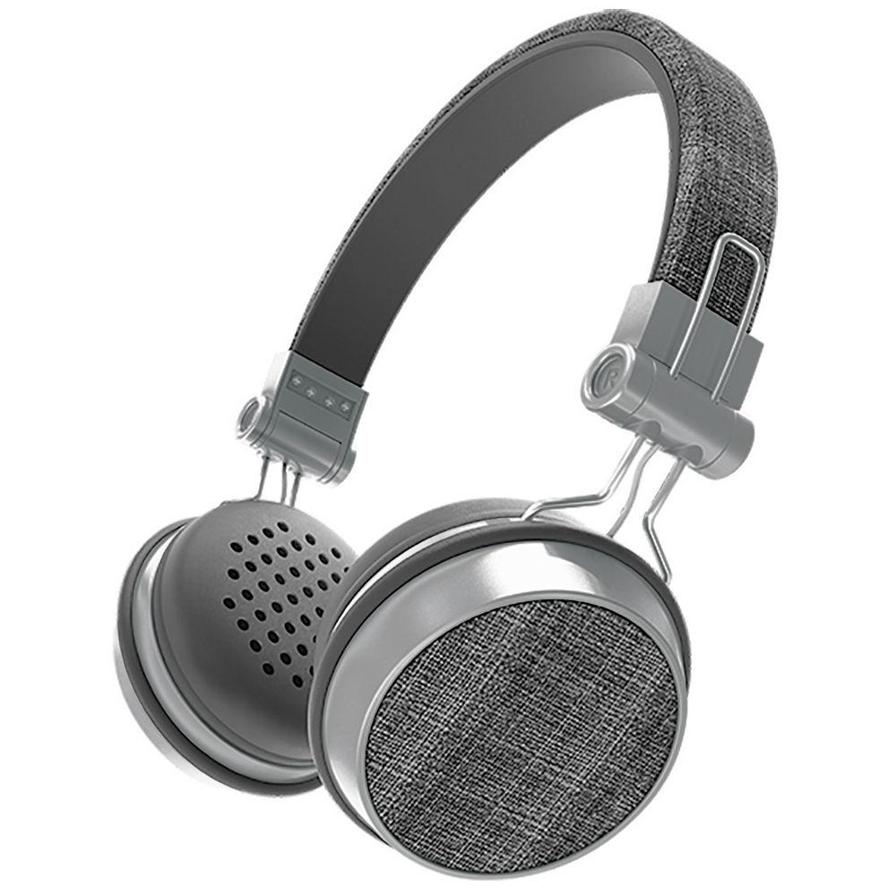Sharper Image Image Chic Fabric Bluetooth Headphones - Black