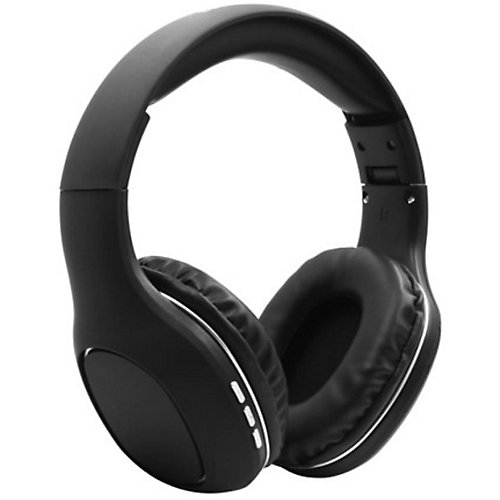 Casque d'écoute stéréo haute fidélité sans fil à image claire et précis, noir