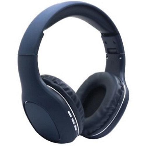 Casque d'écoute stéréo haute fidélité sans fil à image claire et précise. Bleu