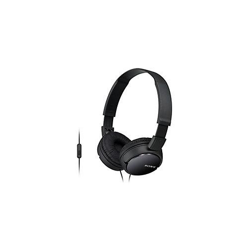 Casque d'écoute MDRZX110AP avec micro et contrôle intégrés, noir
