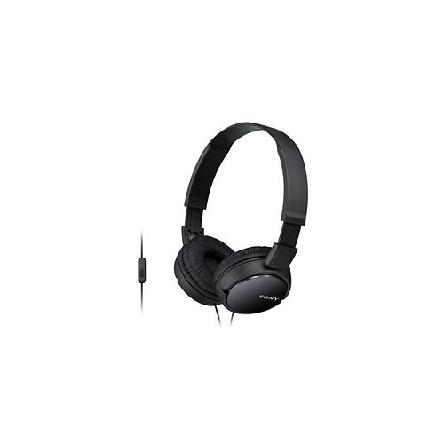 Headphone with microphone, black