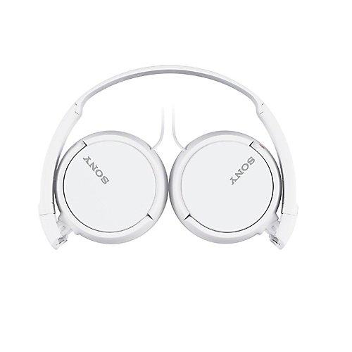 Casque d'écoute MDRZX110AP avec micro et contrôle intégrés, blanc
