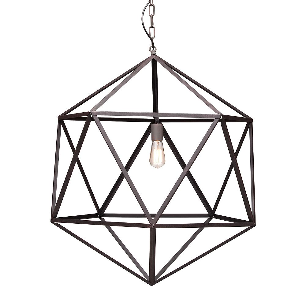 Zuo Modern Amethyst Ceiling Lamp Large