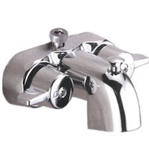 Bath Tub Mounted Faucet (Antique Style) Chrome
