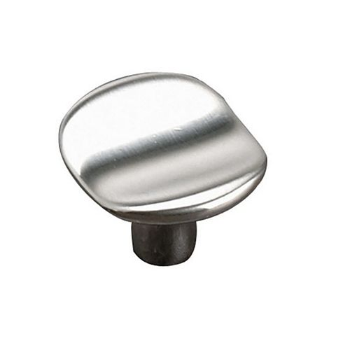Richelieu 1 9/16-inch (40 mm) Center-to-Center Brushed Nickel Contemporary Cabinet Knob