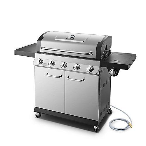 Barbecue au gaz naturel à 5 brûleurs Premier