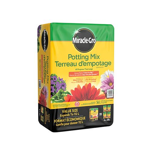 Miracle-Gro 56L Potting Mix Compressed Bale