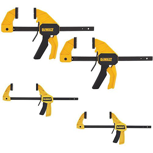 4.5-inch and 12-inch Trigger Clamps (4PK)