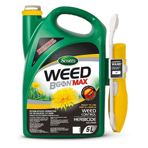 Weed B Gon MAX Ready-to-Use 5L Weed Control with Wand Applicator