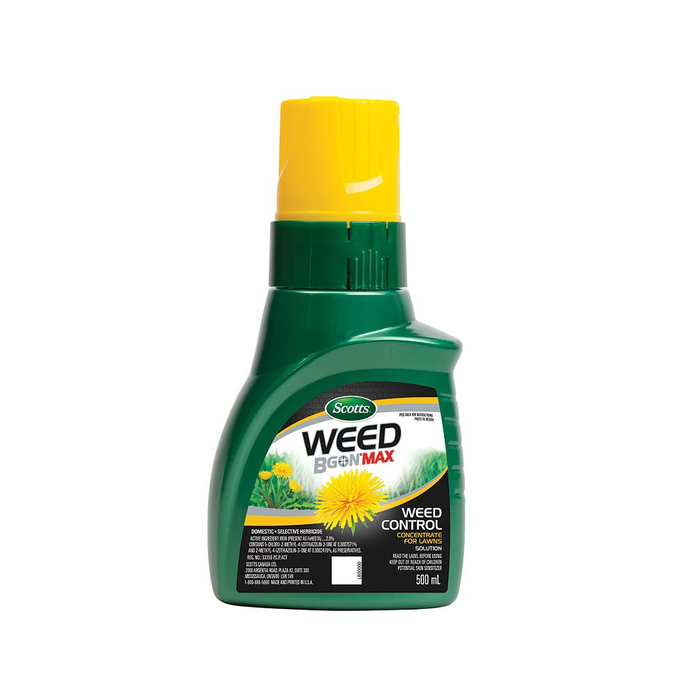 Scott Weed B Gon MAX 500 mL Weed Control Concentrate for Lawns