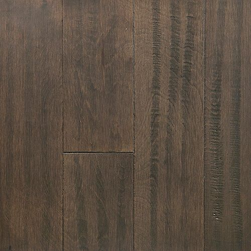 Sample - Tanned Leather Waterproof Hardwood Flooring, 5-inch x 12-inch