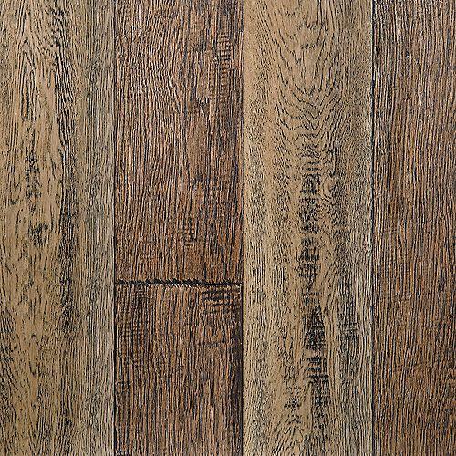 Sample - Reclaimed Charm Waterproof Hardwood Flooring, 5-inch x 12-inch