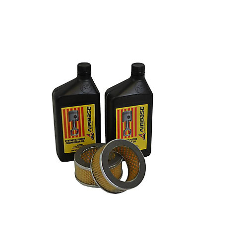 Trousse de maintenance de filtres pour compresseurs à piston 5CV-10CV