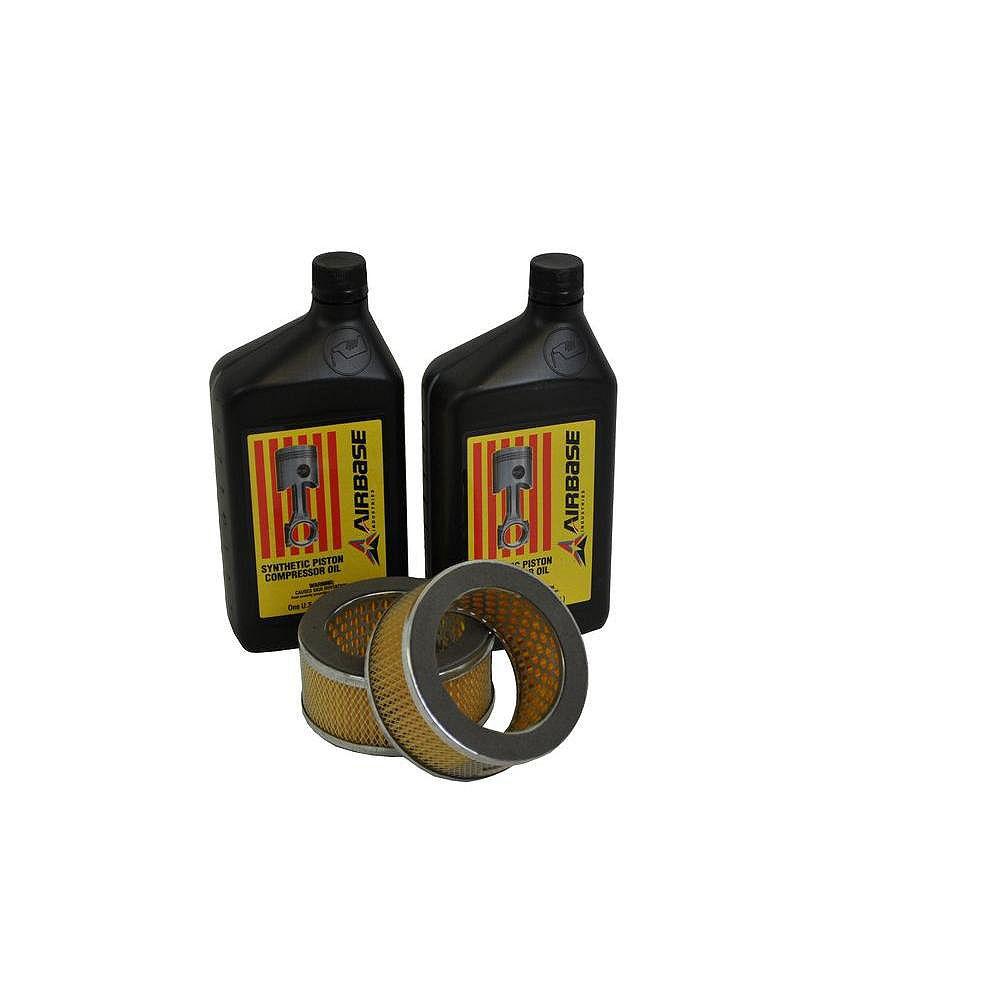 EMAX Trousse de maintenance de filtres pour compresseurs à piston 5CV-10CV
