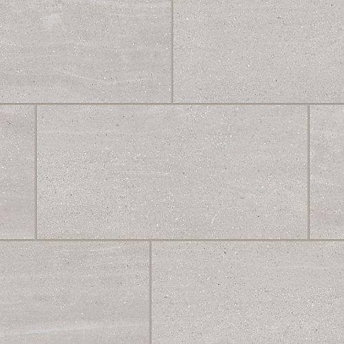 Échantillon - Planche de lattes, vinyle de luxe, 5 po x 6 po, Falaise Decatur