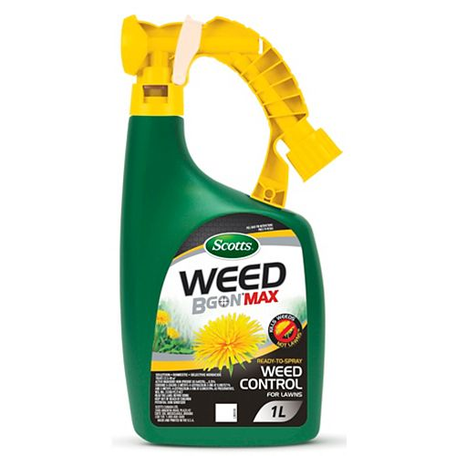 Scotts Weed B Gon  MAX Ready-to-Spray Weed Control for Lawns 1L