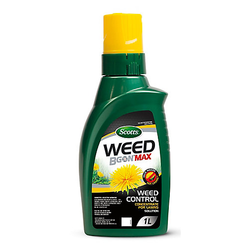 Scotts Weed B Gon MAX Weed Control Concentrate for Lawns 1L