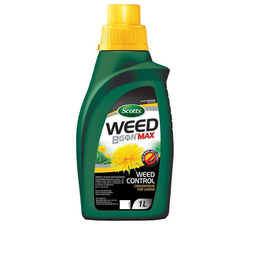 Scotts Herbicide concentré pour la pelouse Scotts Weed B Gon MAX - 1 L