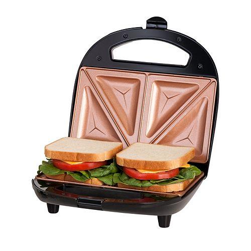 Grille-sandwich antiadhésif Ti-Ceramic fini noir
