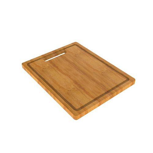 Bambou Planche à Découper Pour Évier de Cuisine 16.8. x 11.8 po.