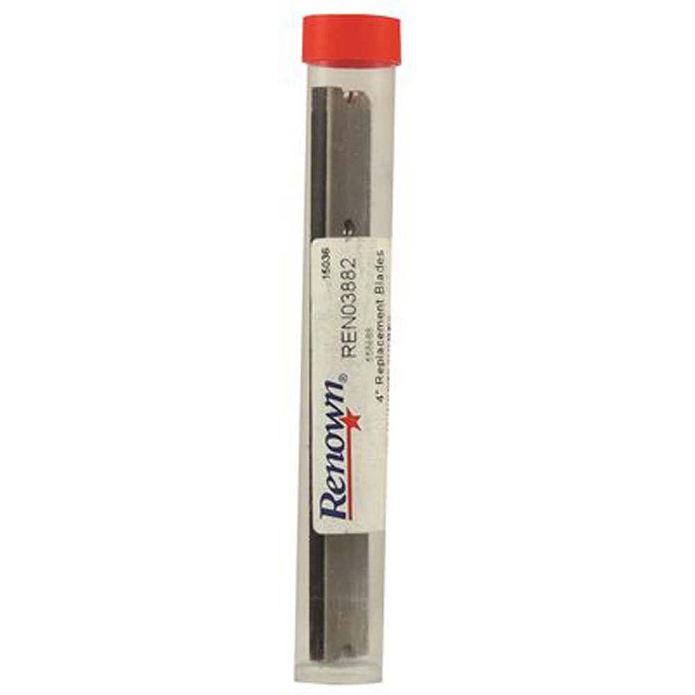 Renown Floor Scraper Stainless Steel Replacement Blades (10 Pack)