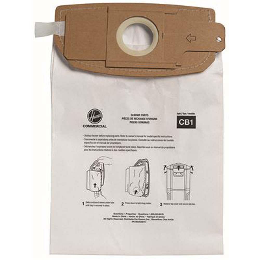 Hoover Sac Pour Aspirateur Auto-Scellant Standard, Pour Ch34006, Ch93406, 10 Par Emballage