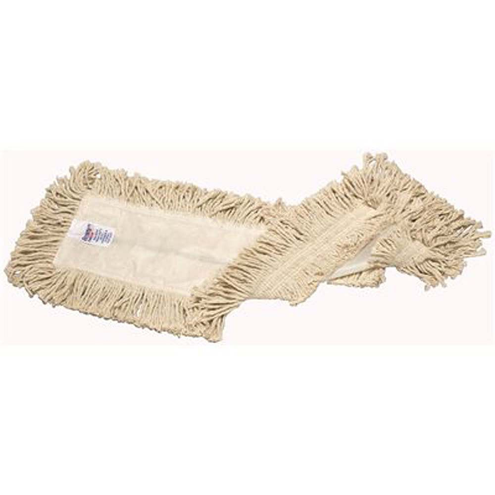 Renown 4-Ply White Heavy-Duty Disposable Cotton Dust Mop