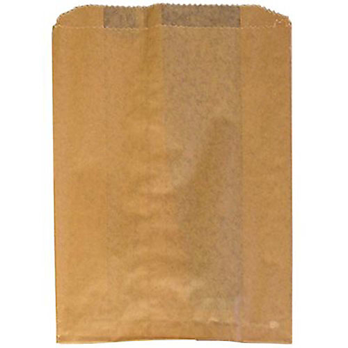 9 inch X 10 inch X 3-1/4 inch Waxed Kraft Liners (Case Of 500)
