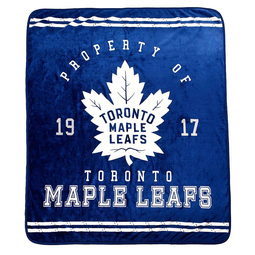 NHL NHL Toronto Maple Leafs Luxury Velour Blanket