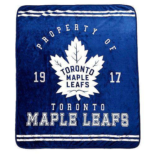 NHL Toronto Maple Leafs Luxury Velour Blanket
