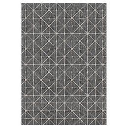 Illusions Shirobi Black 7 ft. 7-inch x 10 ft. 10-inch Indoor/Outdoor Area Rug