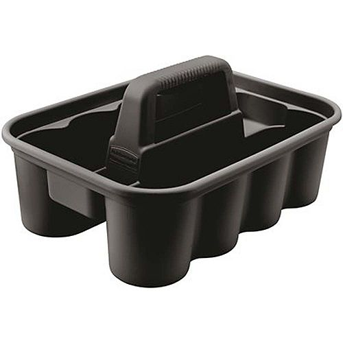 Deluxe Black Plastic Carry Caddy