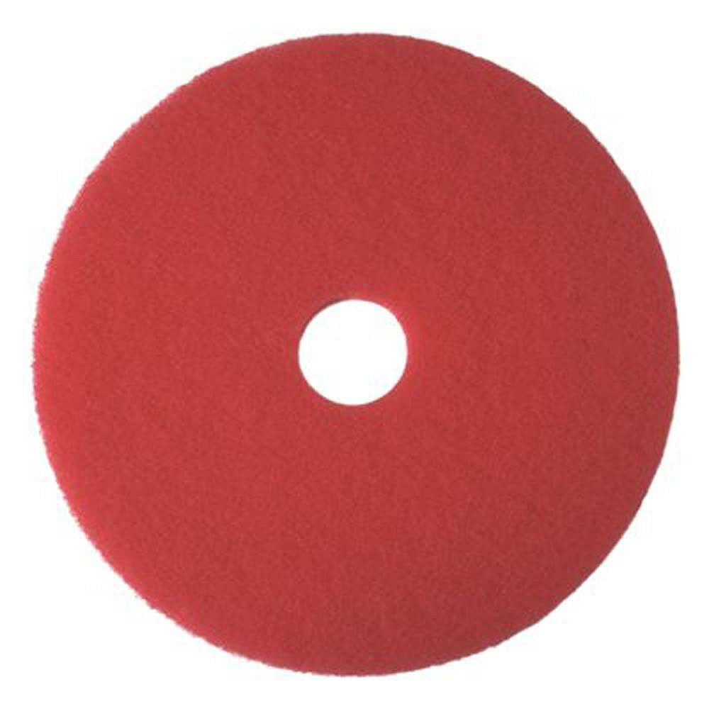 Renown Red Buffing Pad, 15 In.