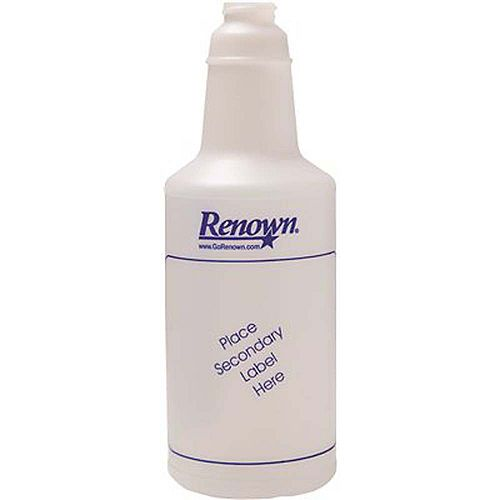 32 Oz. Plastic Spray Bottle With Graduations In Blue Ink