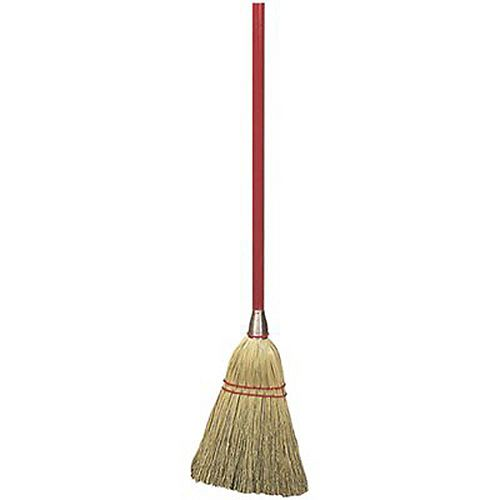 34 In. Blended Lobby Corn Broom