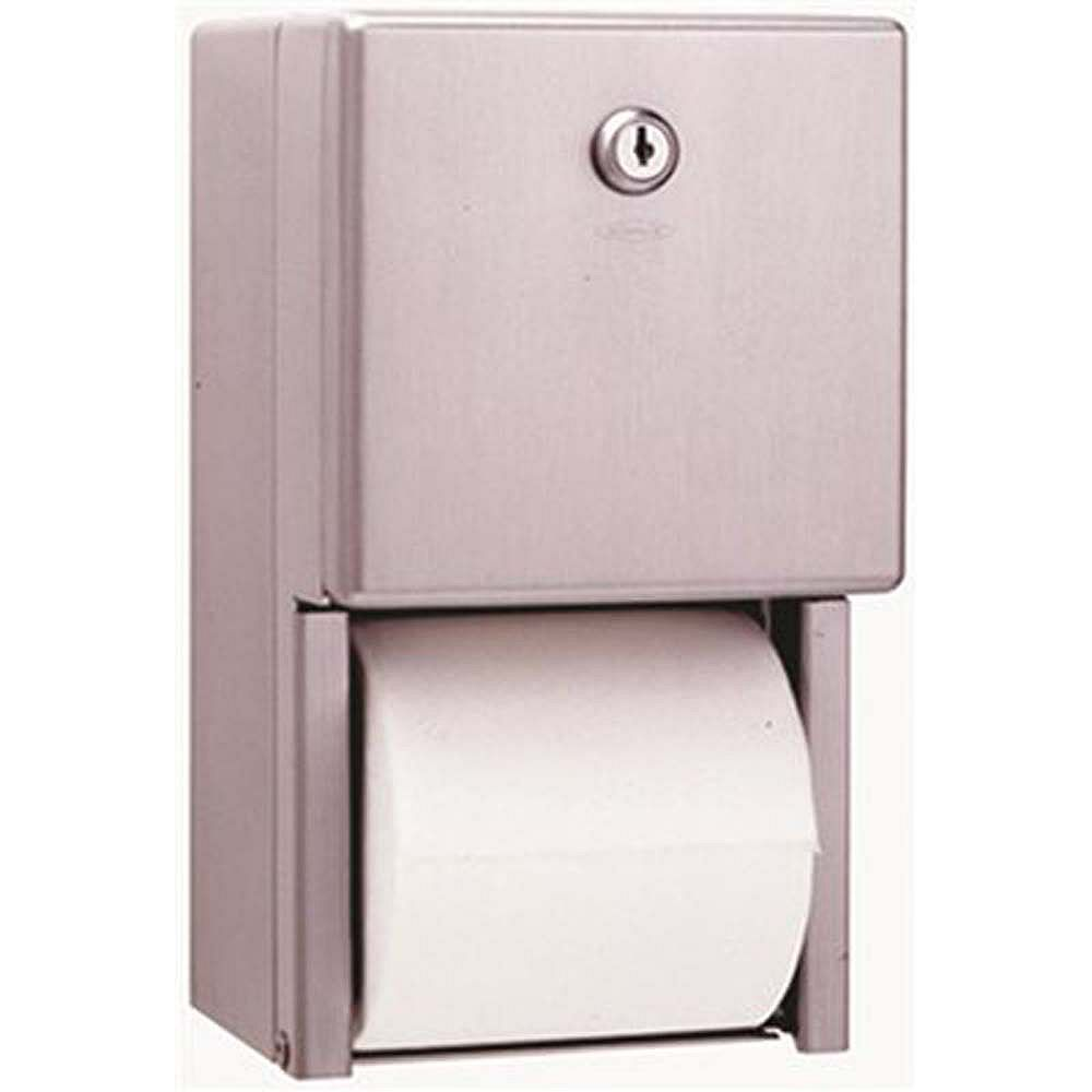 Bobrick Multi-Roll Toilet Tissue Dispenser In Satin