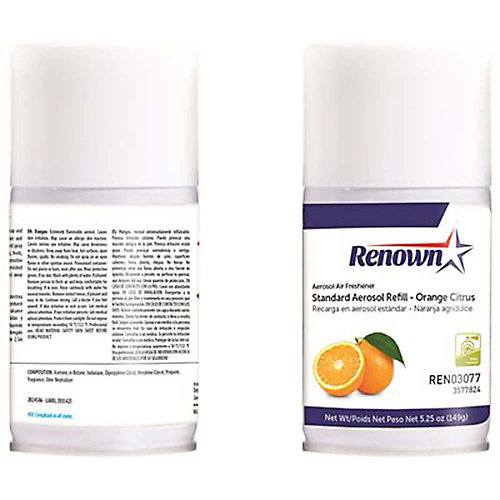 Standard 6 Oz. Orange Citrus Odor Neutralizer Aerosol Dispenser Refill