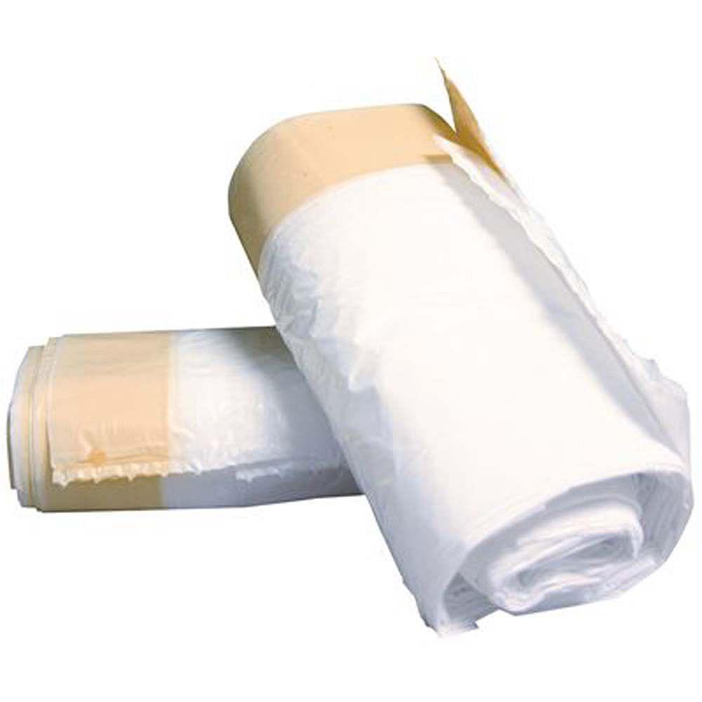 Rubbermaid Commercial Products Doublures De Poubelles Sanitaires Blanches De Rubbermaid Commercial Products 3 Gal (15 Unités)