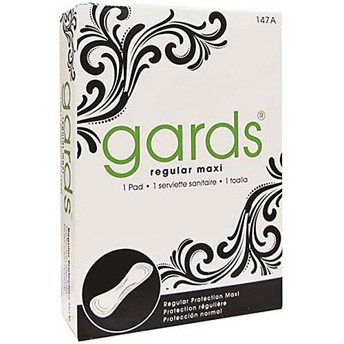 Gards Maxi Pad 4 Box 250 Per Case