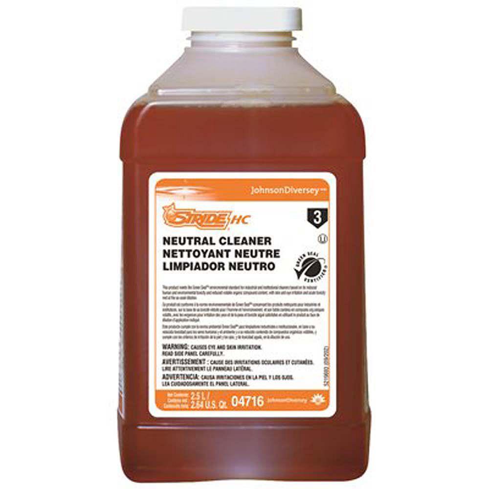 Diversy Diversey Stride Citrus Hc 2.5 L Neutral Cleaner J-Fill