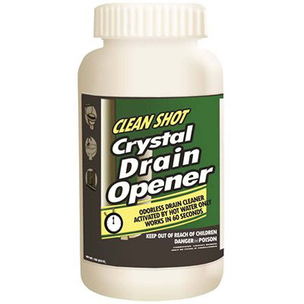 Theochem Laboratories Non-Acid Crystal Drain Opener And Cleaner, 1 Lb.