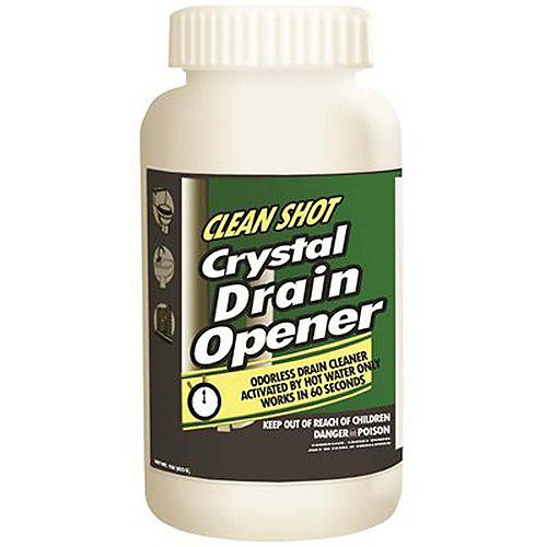 Non-Acid Crystal Drain Opener And Cleaner, 1 Lb.