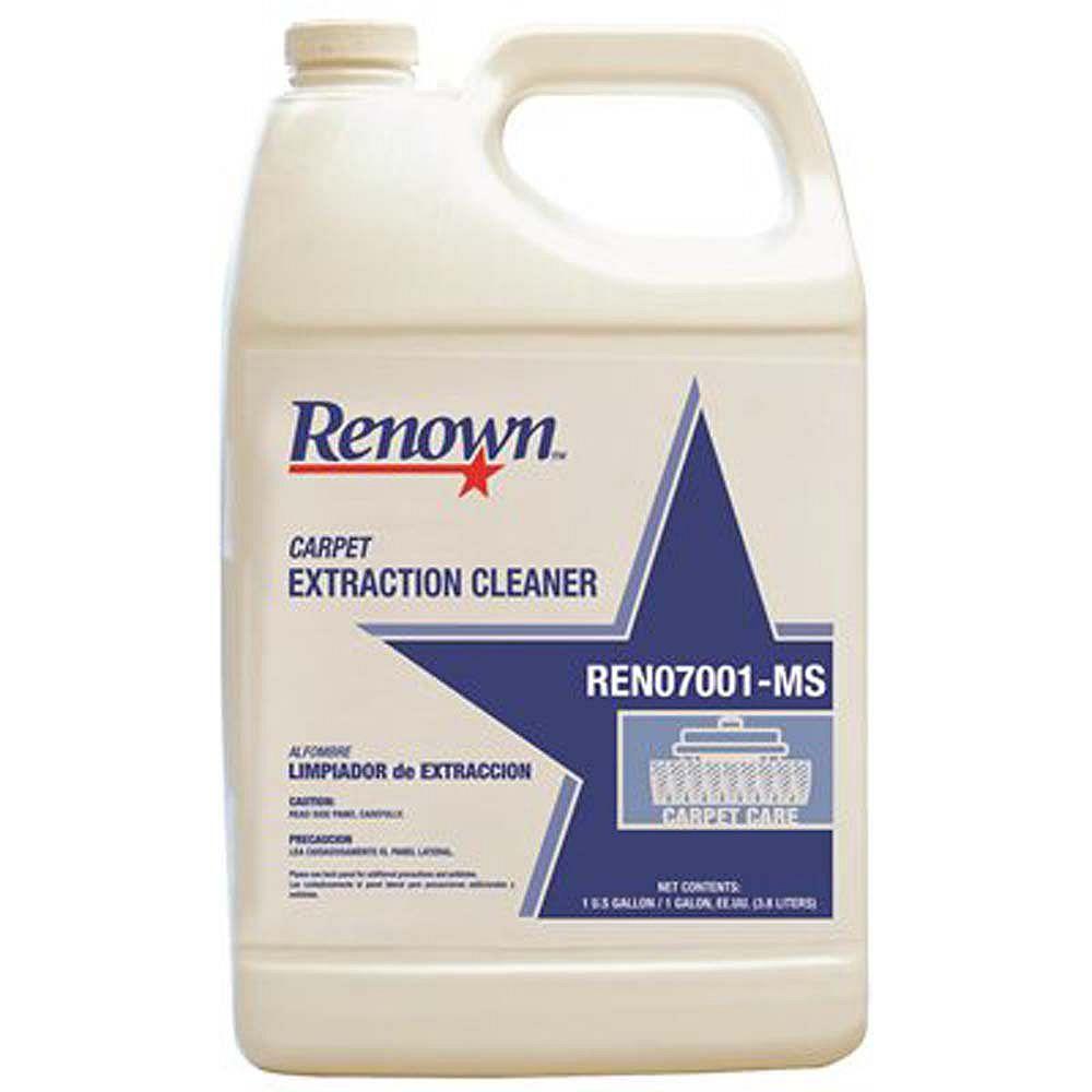 Renown Nettoyant Par Extraction Pour Tapis De Renown, 128 Oz