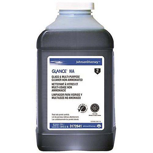 Liquide De Nettoyage Pour Vitres Non Ammoniaques J-Fill De Diversey Glance - 2,5 L