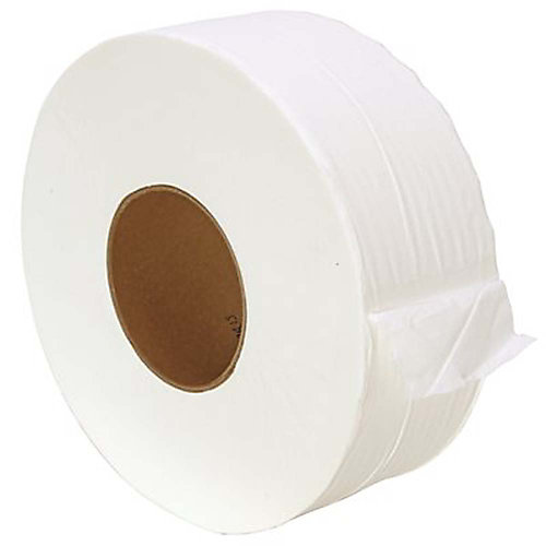 Premium Junior 3.35 inch X 850 Ft. 2-Ply Soft Superior Quality Bright White