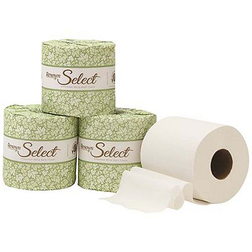 Single Roll Advanced 2-Ply Toilet Paper, (500 Sheets Per Roll, 80 Rolls per case